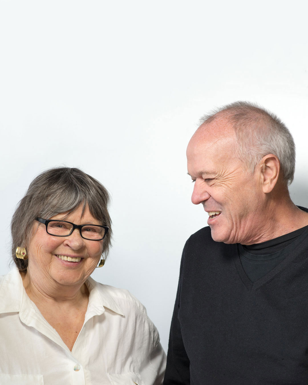 Dorothea Prühl and Otto Künzli