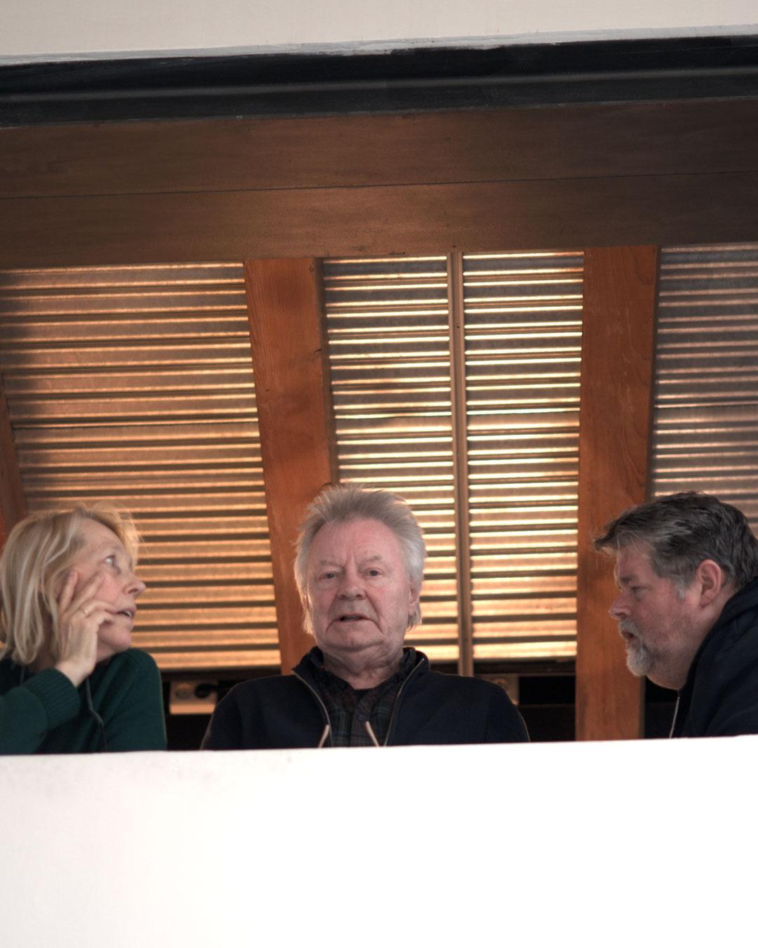 Lucy Sarneel, Robert Smit and Jelle Kampen