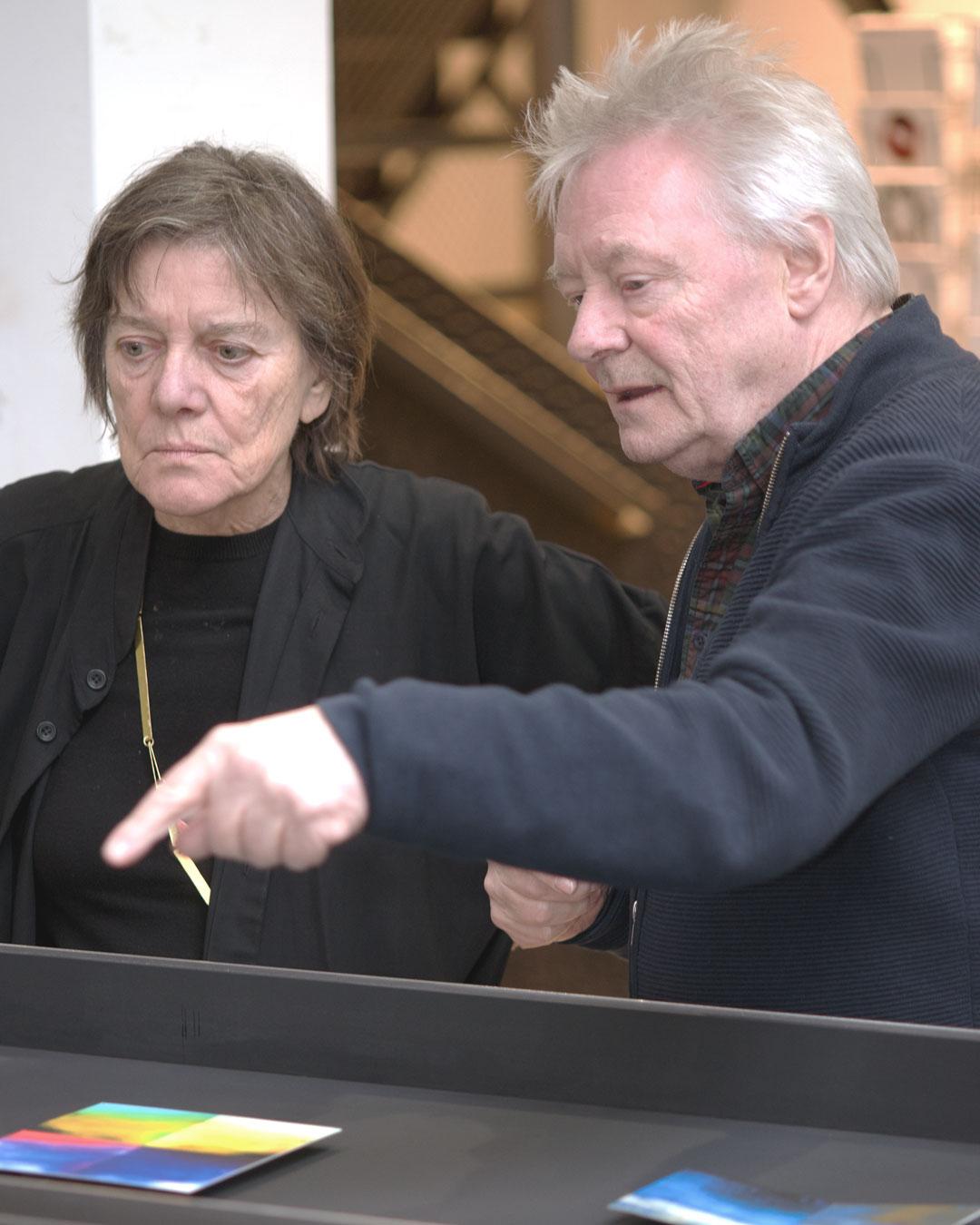 Marie-José van den Hout and Robert Smit