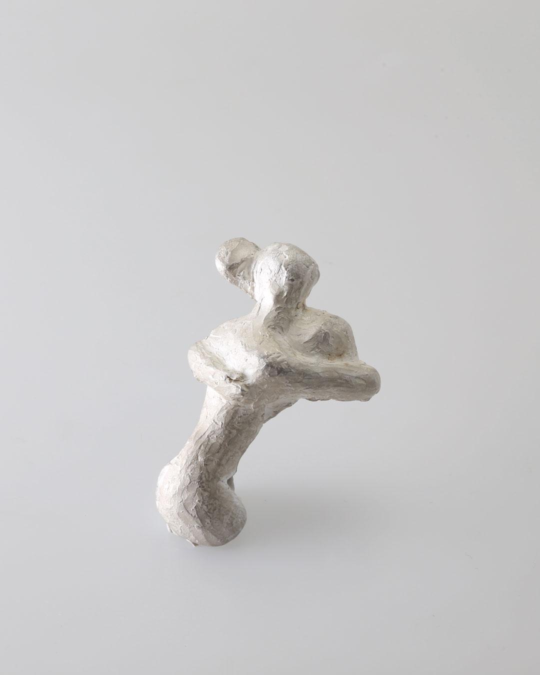 Juliane Brandes, zonder titel, 2016, broche; zilver, 60 x 40 x 15 mm, €1460