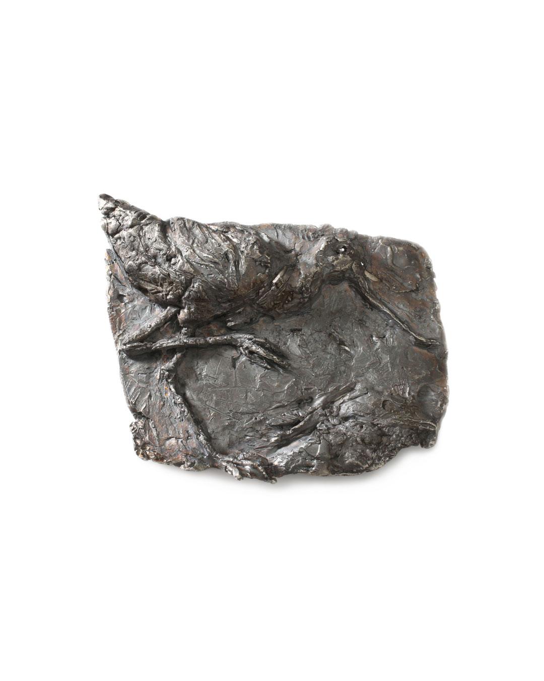 Juliane Brandes, zonder titel, 2013, broche; zilver, 65 x 50 mm, €1575