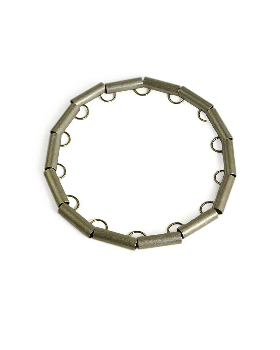 Herman Hermsen, untitled, 1998, necklace; silver, gold, 170 x 170 x 17 mm, €2560
