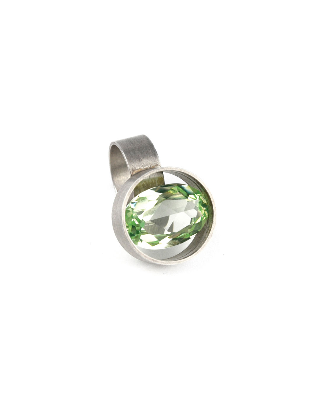 Herman Hermsen, untitled, 2000, ring; silver, synthetic stone, 29 x 25 x 33 mm, €295