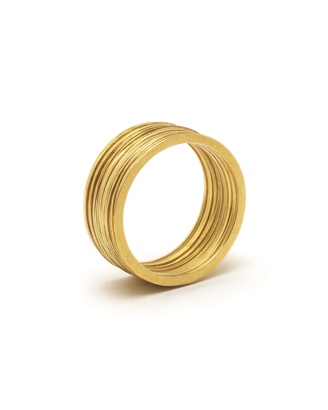 Annelies Planteijdt, zonder titel, 1987, ring; 18 kt goud, ø 20 x 8 mm, €1900