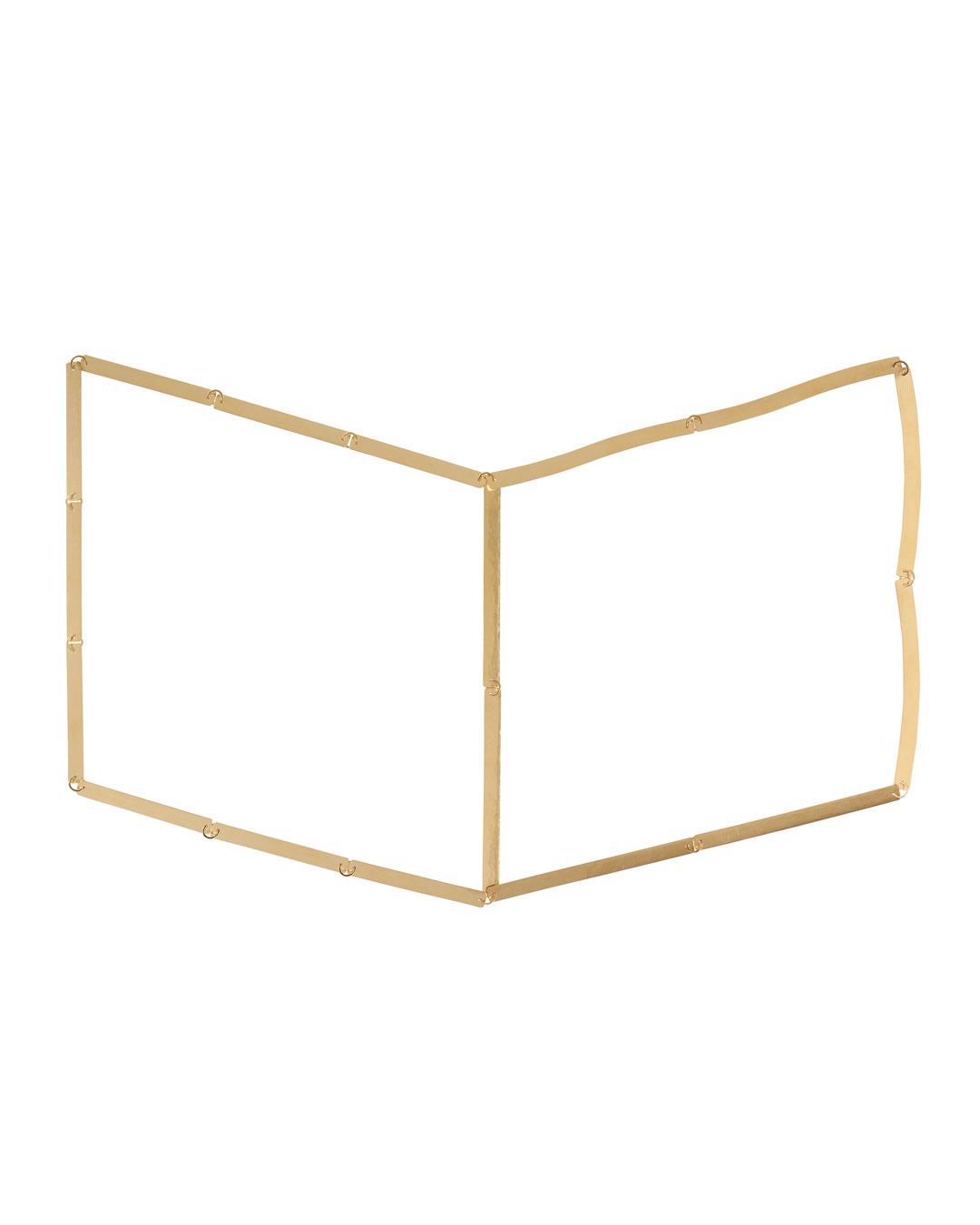 Annelies Planteijdt, Mooie stad – Collier en boek (Beautiful City, 2017, halssieraad; goud, 360 x 240 mm, prijs op aanvraag (afbeelding 1/3)