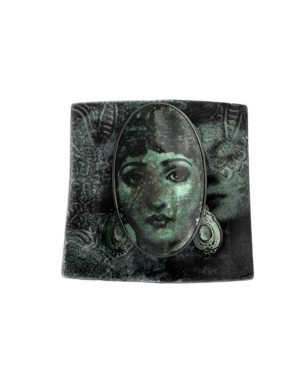 Vera Siemund, untitled, 2009, brooch; copper, silver, enamel, 85 x 75 x 20 mm, €1050