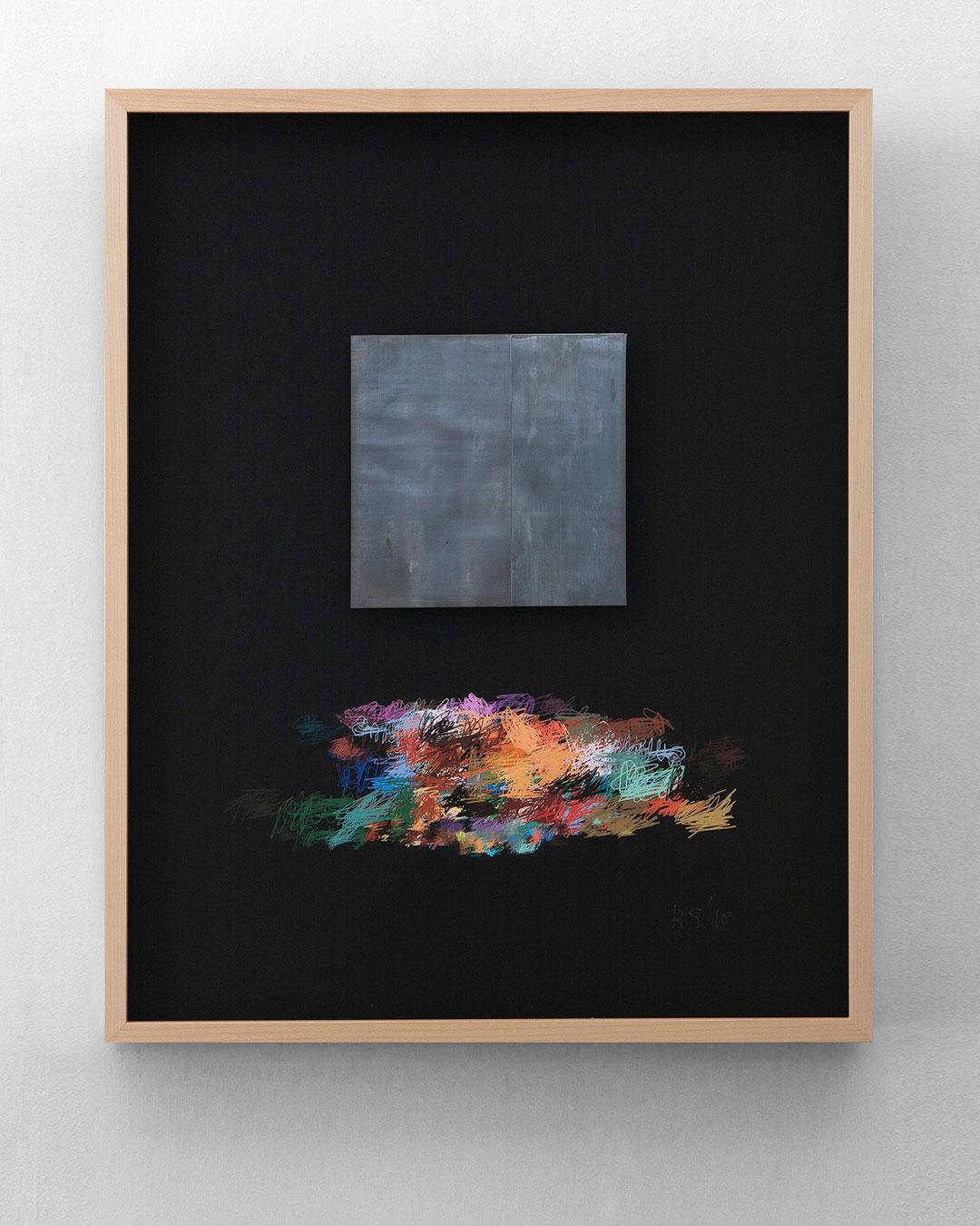 Robert Smit, Framed Sketch for Necklace, 2007-2018, sketch; ink on canvas, 400 x 500 mm, €5400