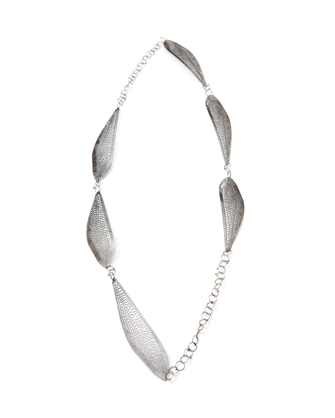 Mirei Takeuchi, untitled, 2012, necklace; stainless steel, steel, 330 x 130 x 5 mm, €2100