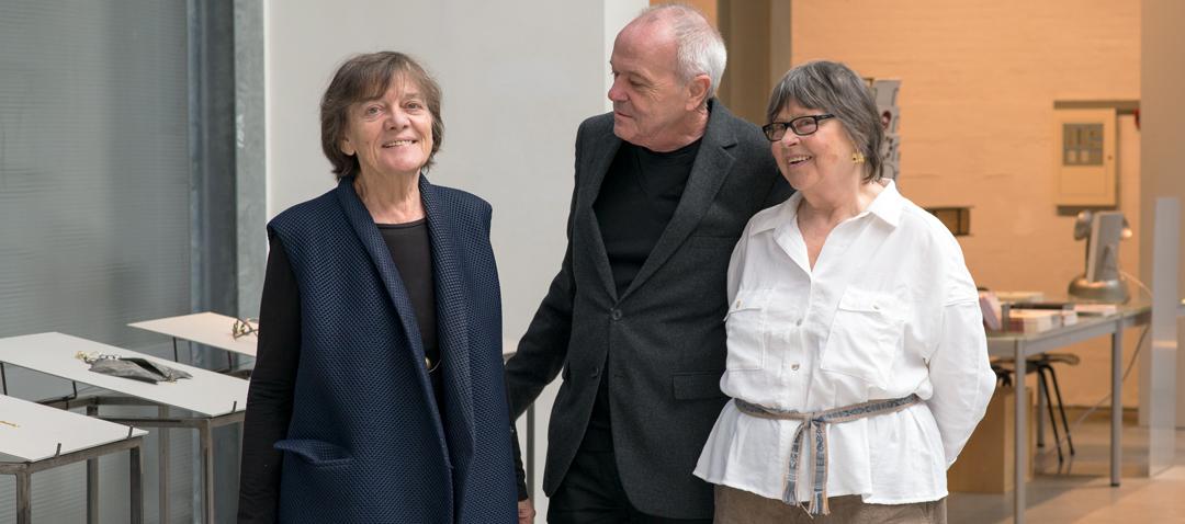Marie-José van den Hout, Otto Künzli and Dorothea Prühl, 2017