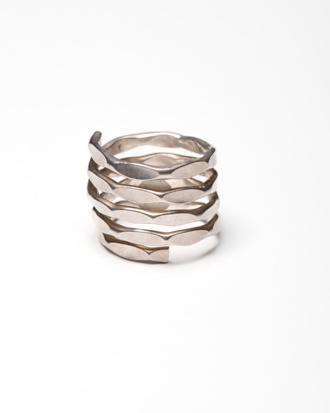 Yasuki Hiramatsu, untitled, ring; silver, €250