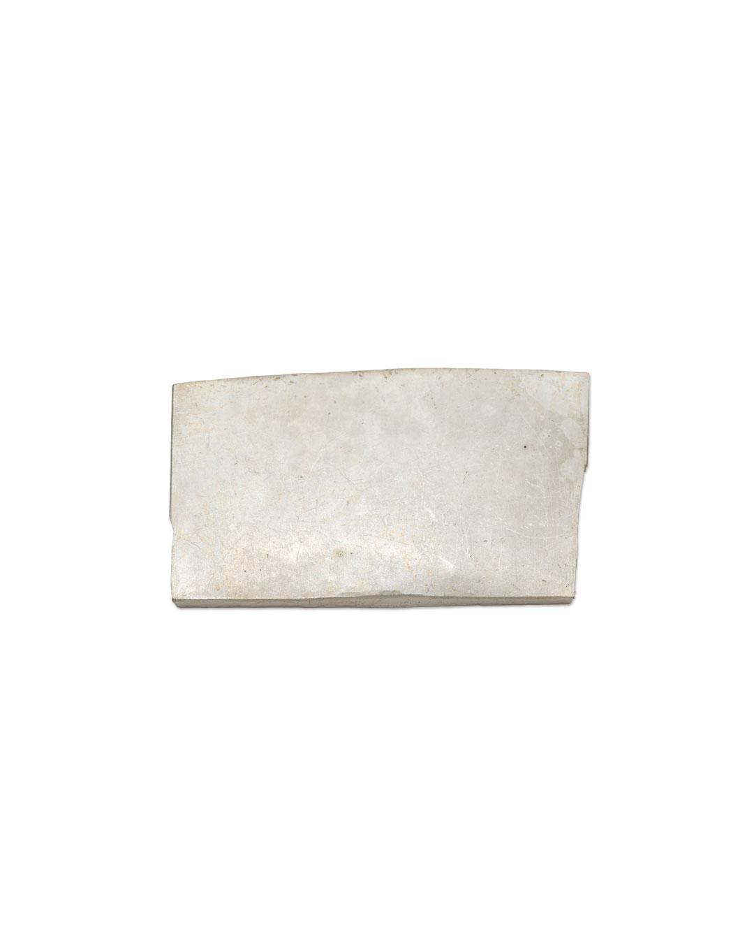 Noam Elyashiv, untitled, 2016, brooch; reclaimed silver, 50 x 28 x 3 mm, €1150