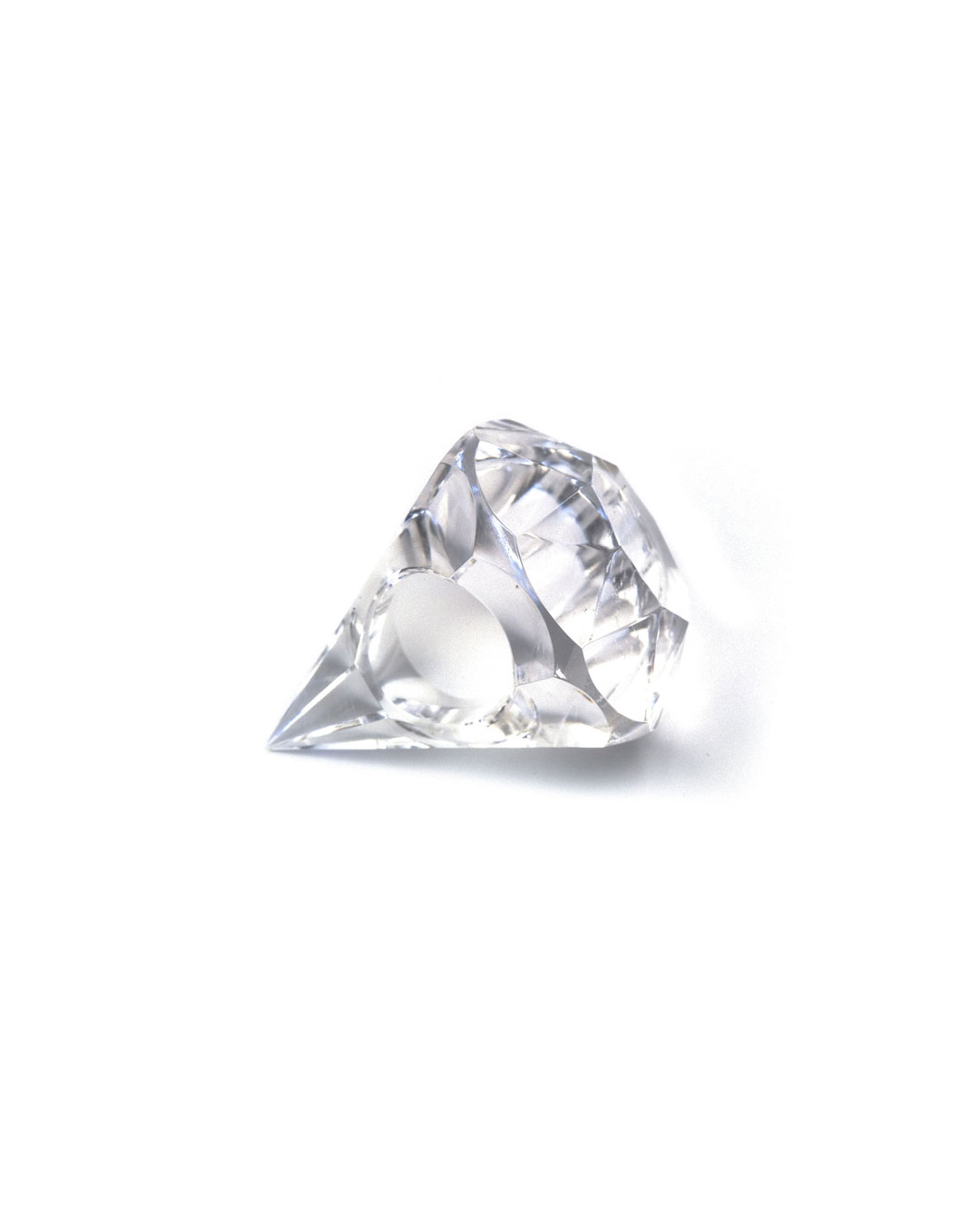 Herman Hermsen, untitled, 1989, ring; rock crystal, 50 x 40 x 40 mm, €2100