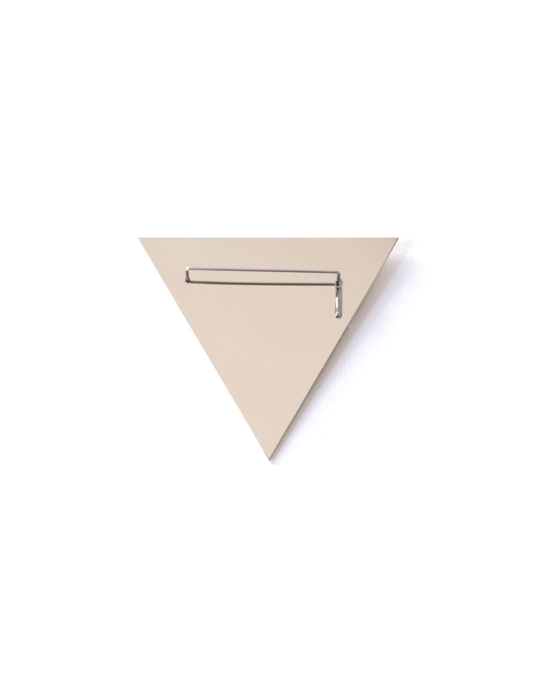 Junwon Jung, Pin and Mirror, 2015, brooch, steel, 60 x 60 mm, €490