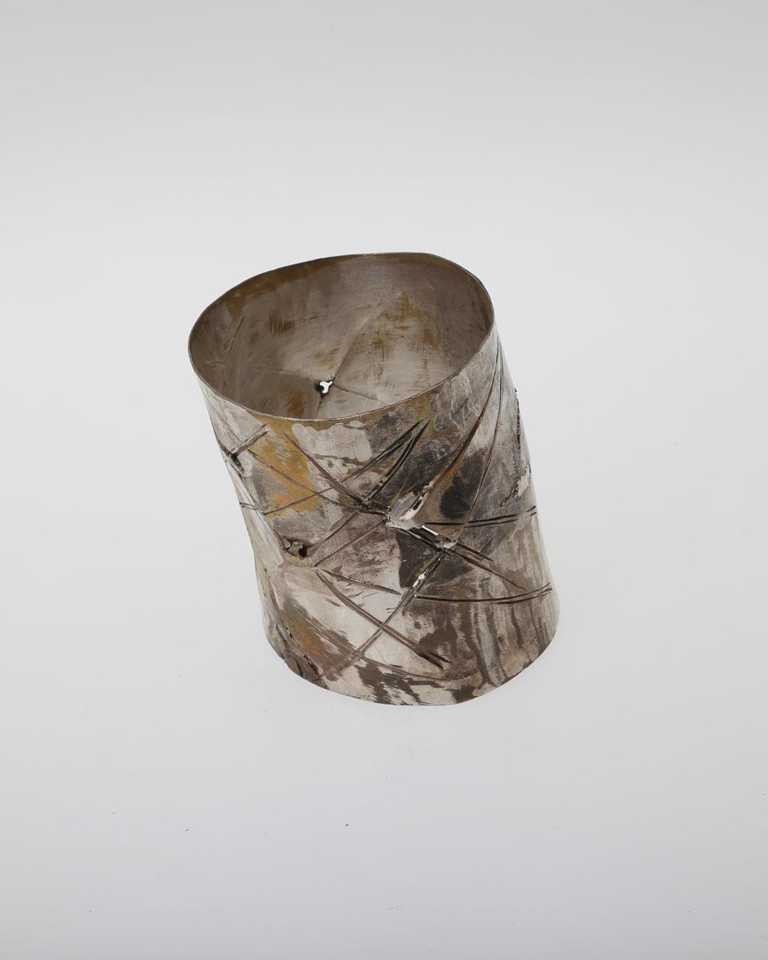 Rudolf Kocéa, Stars, 2017, bracelet; silver, copper, gold, ø 66 mm, €2225