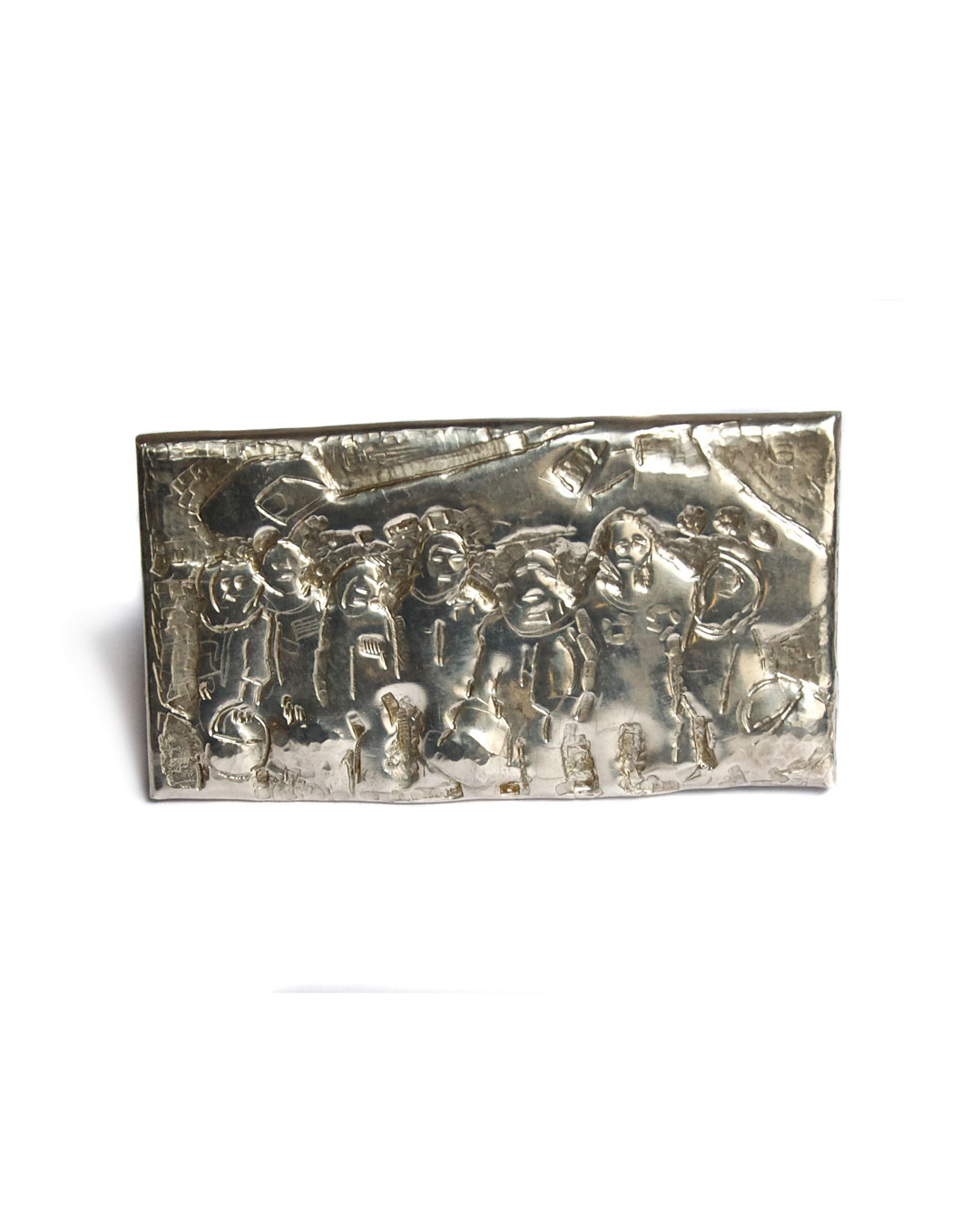 Rudolf Kocéa, Astronauten, 2007, broche; zilver, 55 x 105 x 5 mm, €1535