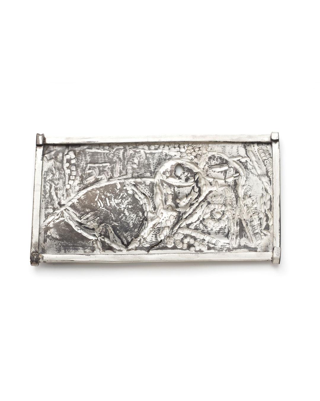 Rudolf Kocéa, Andreasfest (St. Andreasfeest), 2014, broche; zilver, koper, 60 x 115 x 8 mm, €1550