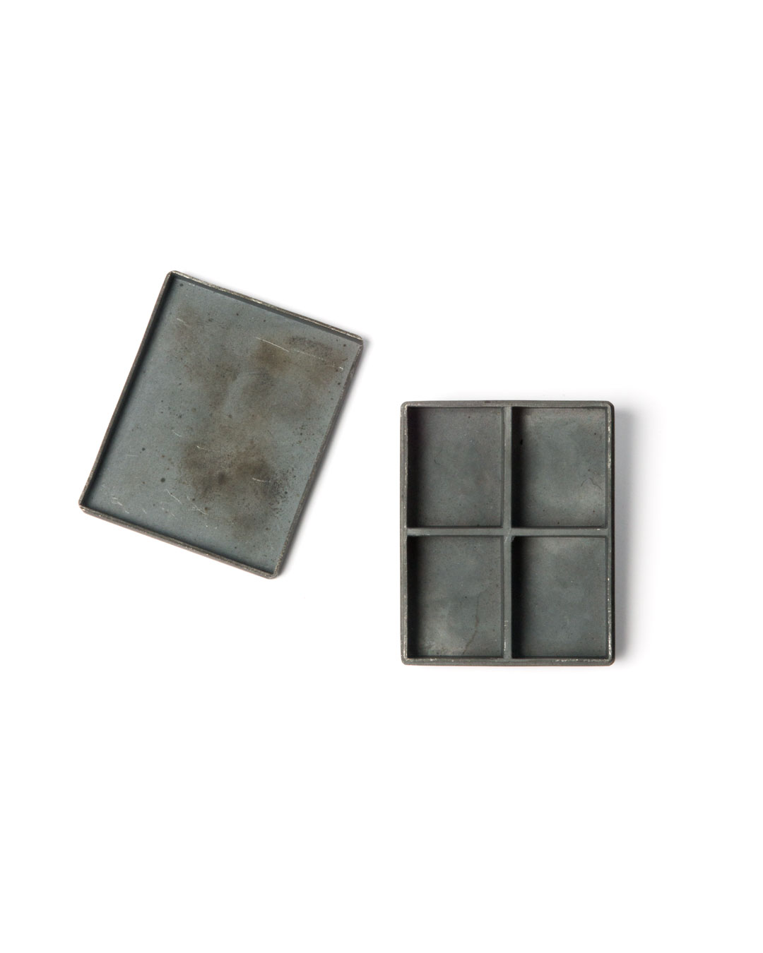 Winfried Krüger, untitled, 2008, brooch; oxidised silver, 50 x 45 mm, €1455