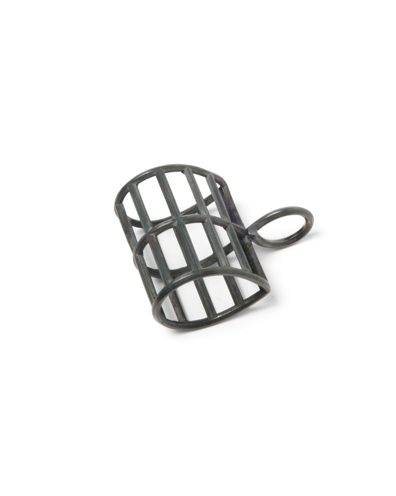 Winfried Krüger, untitled, 2008, ring; oxidised silver, 80 x 90 mm, €1575