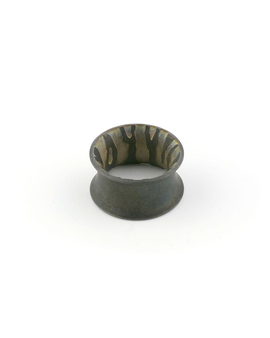 Akiko Kurihara untitled, 2007, ring; iron, 24 x 12 mm, €250