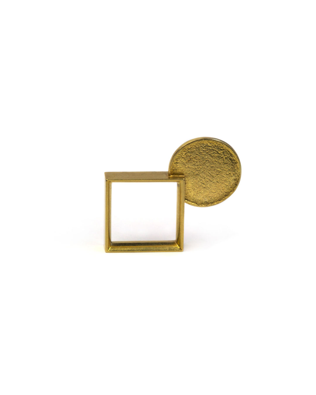 Okinari Kurokawa, untitled, 1996, ring; 18ct gold, 31 x 28 x 5 mm