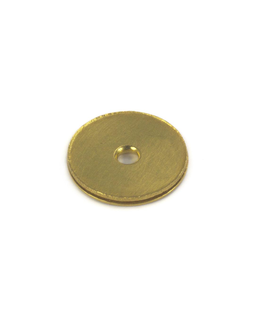 Okinari Kurokawa, untitled, 2002, pendant; 20ct gold, ø 31 x 3 mm