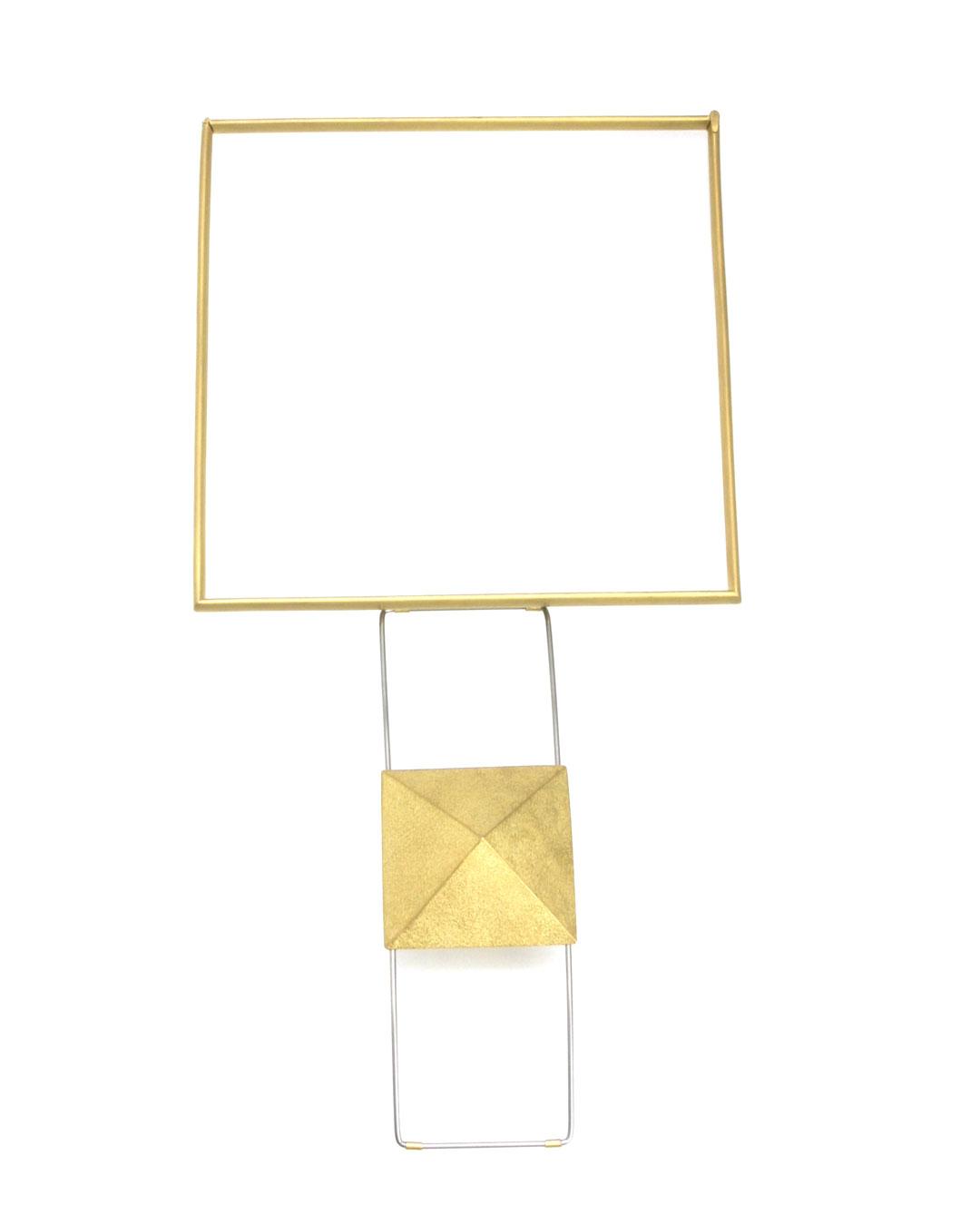 Okinari Kurokawa, untitled, 2007, necklace; 20ct gold, stainless steel, 139 x 139 x 38 mm,
