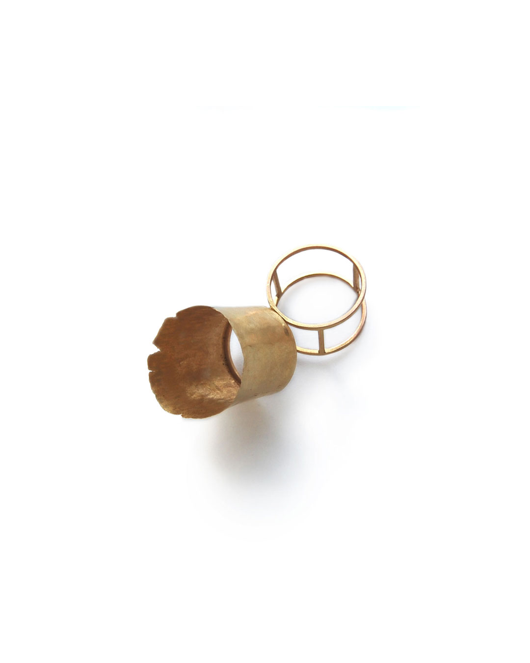 Stefano Marchetti, untitled, 2008, ring; gold, 41 x 41 x 36 mm, €3000