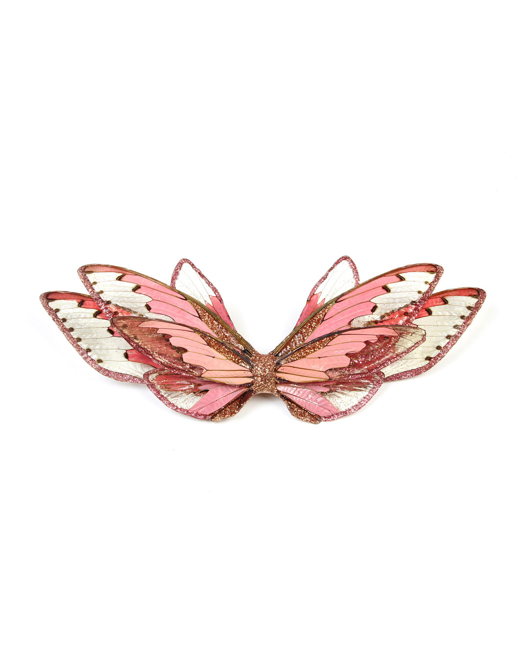 Märta Mattsson, Wings, 2015, broche; cicadas, hars, pigment, zilver, 170 x 80 x 20 mm