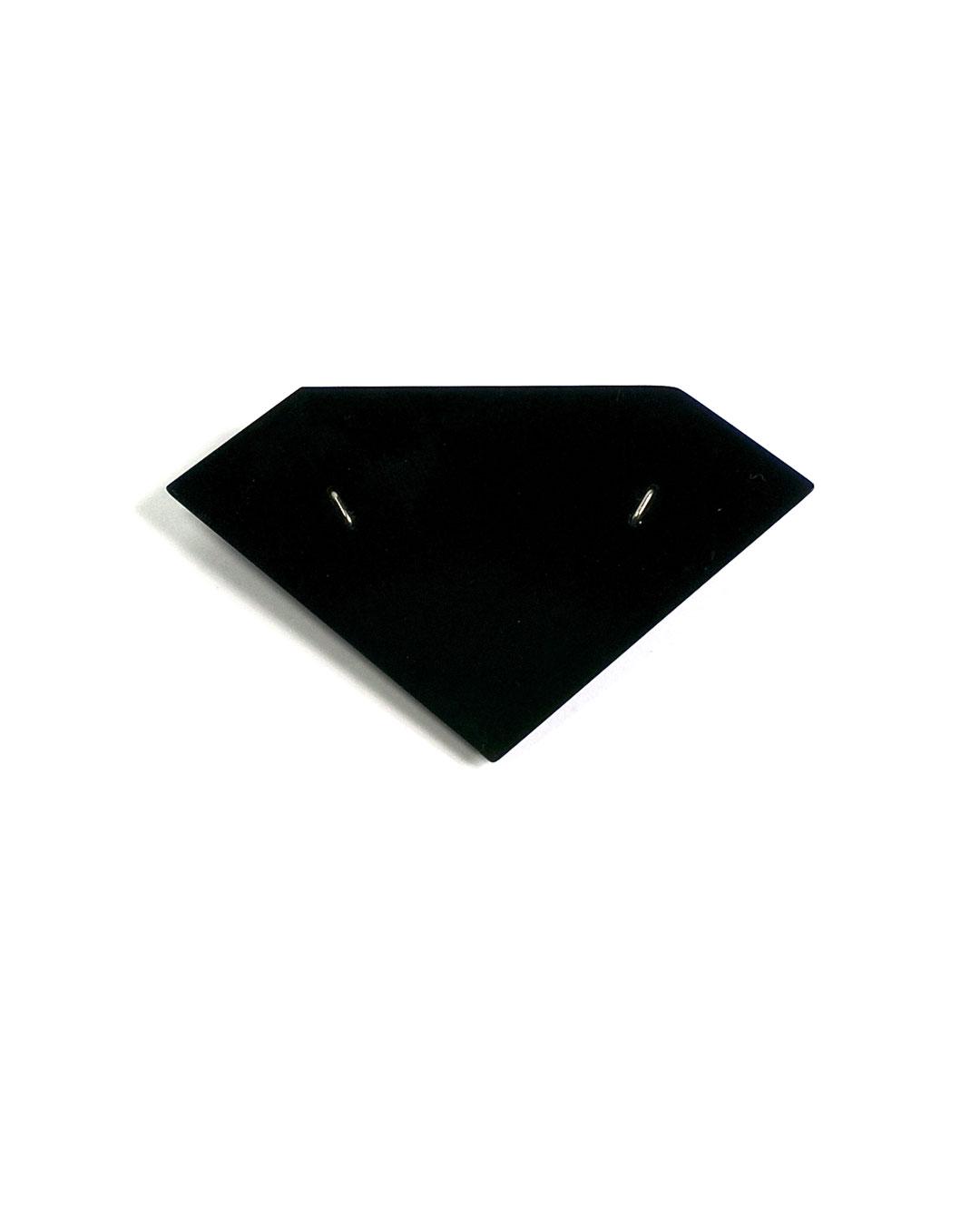 Florian Weichsberger, Forever, 2008, brooch; plastic, steel, 50 x 60 x 1 mm, €170