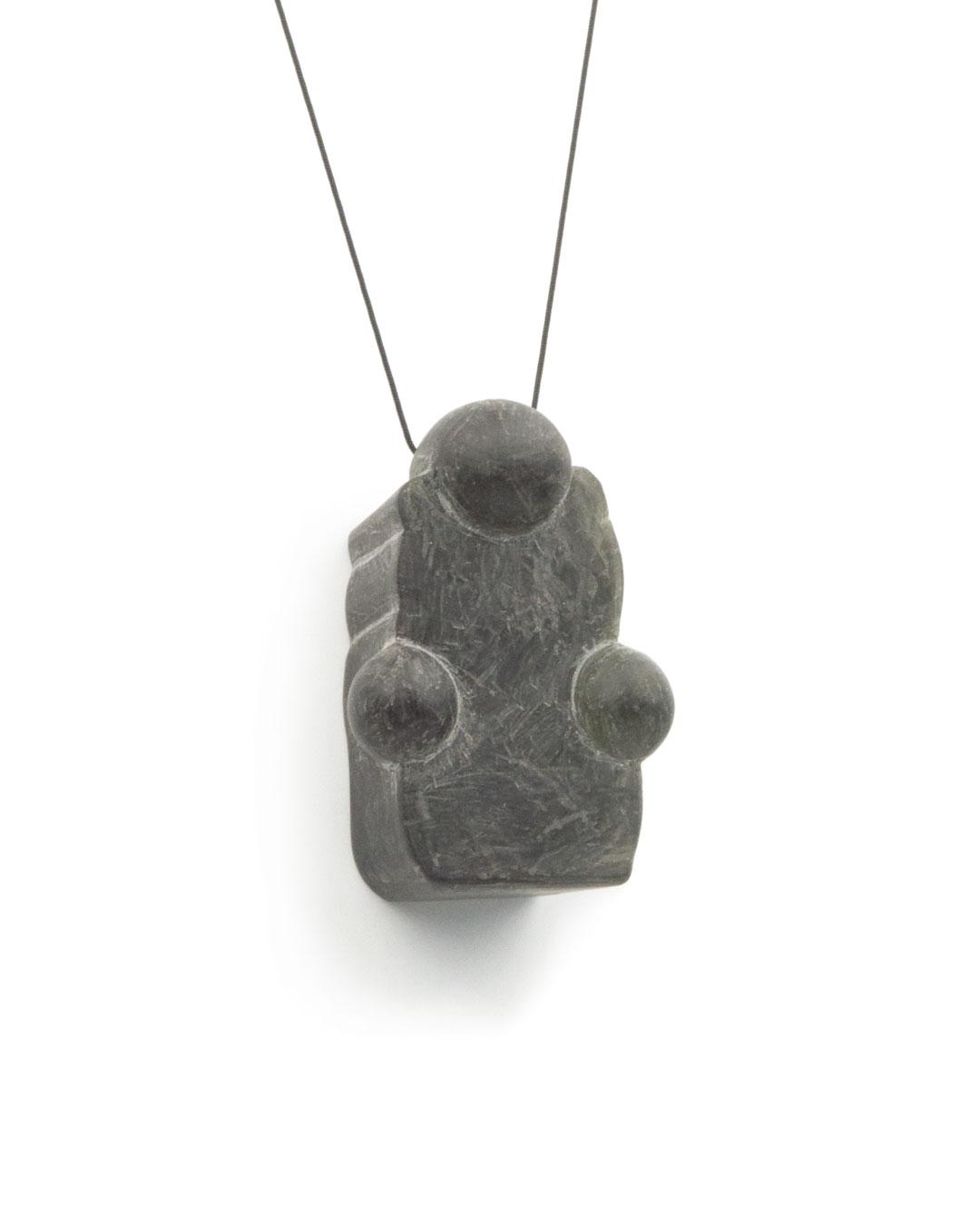Florian Weichsberger, Idol, 2009-2013, pendant; plastic, 70 x 40 x 30 mm, €490