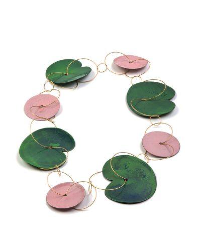 Andrea Wippermann, Pink Waterlilies, 2007, halssieraad