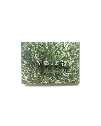 Jonathan Boyd, Yield, brooch, silver, UV printed aluminium, steel, 80 x 60 x 20 mm, €1450