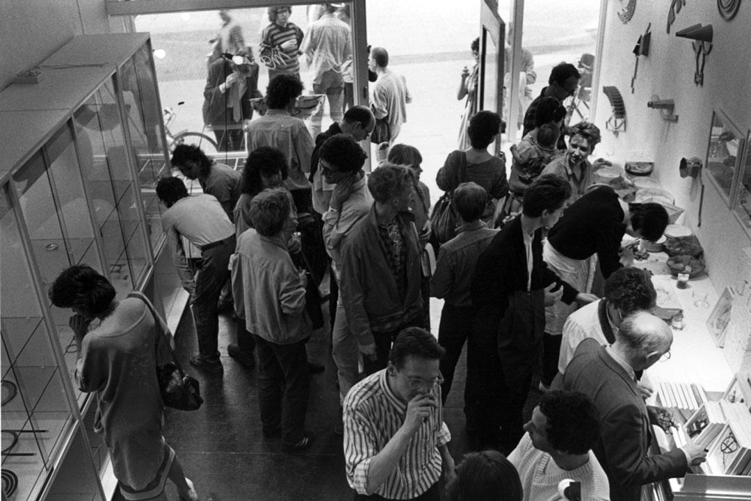 Galerie Marzee at Lange Hezelstraat Nijmegen 1979-1987